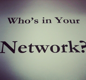 who's in your network, social networking