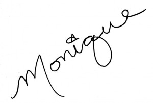 Monique's signature, Monique Mansour, signature