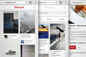 pinterest, pinterest goes mobile