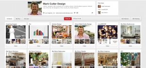 Mark Cutler Pinterest