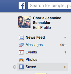 How To Use Facebook Save Feature