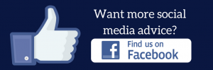 Want more social media advice? Follow us on Facebook