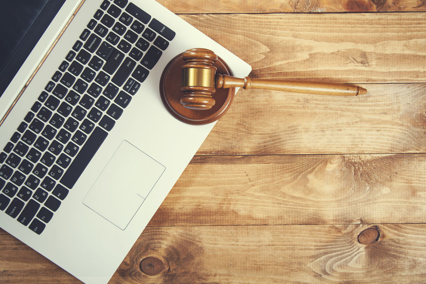Why Your Firm Should be Blogging, computer and gavel