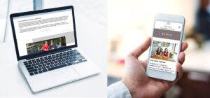 KWSM Case Study- redesign mobile and desktop